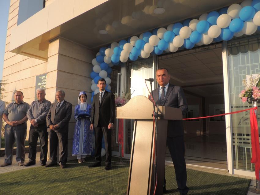 В городе Джизак открылся первый частный банк